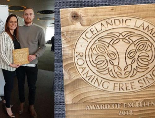 Icelandic Lamb – Award/Viðurkenning